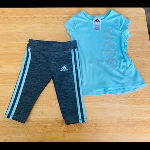 Girls 2Pc Set Adidas 2T